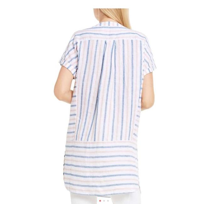 Vince Camuto Striped Linen Tunic Image 5