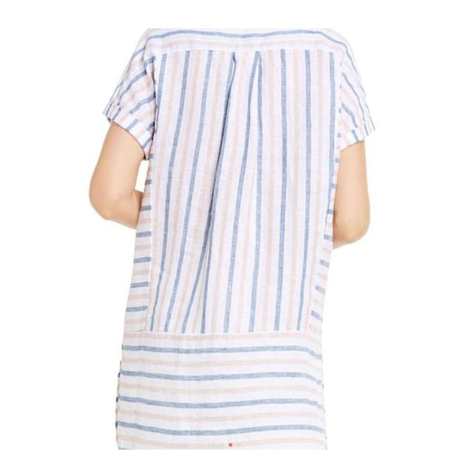 Vince Camuto Striped Linen Tunic Image 6