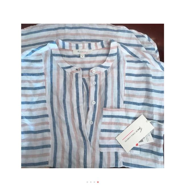 Vince Camuto Striped Linen Tunic Image 7