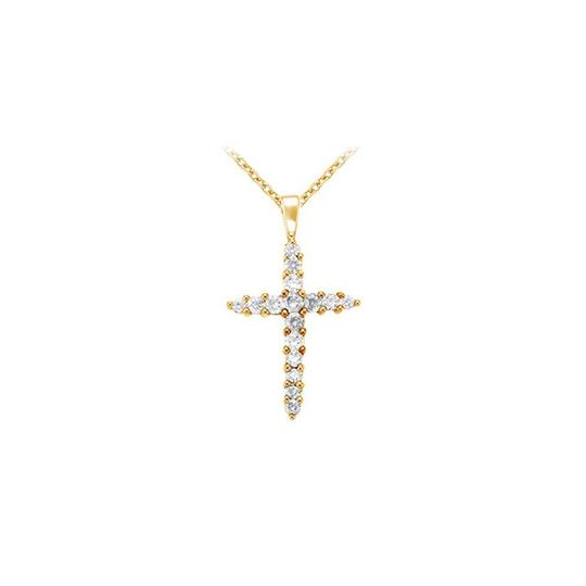 Preload https://img-static.tradesy.com/item/22508758/white-yellow-april-birthstone-cubic-zirconia-cross-pendant-gold-vermeil-necklace-0-0-540-540.jpg