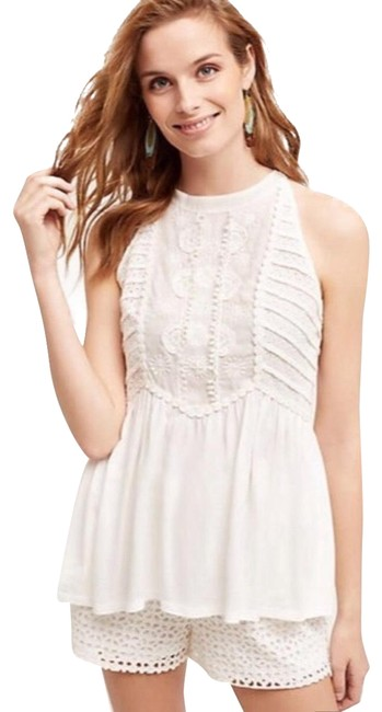 Preload https://img-static.tradesy.com/item/22508927/anthropologie-eva-eyelet-halter-blouse-size-2-xs-0-1-650-650.jpg