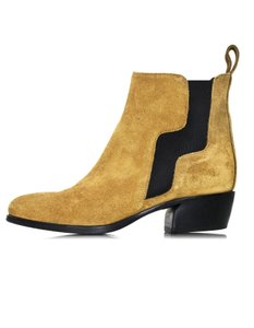 Pierre Hardy Ankle Suede Ankle camel Boots
