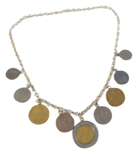 Preload https://item2.tradesy.com/images/silver-style-sterling-silver925-19-inch-925-italian-lire-coin-charm-necklace-2250951-0-0.jpg?width=440&height=440