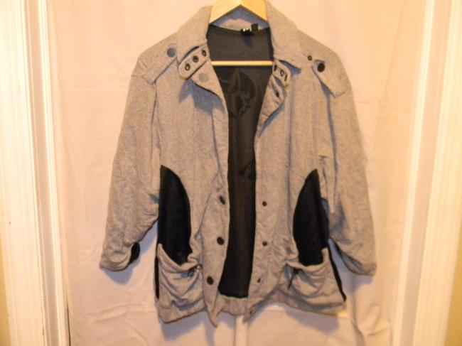 Boy Meets Girl Heather Grey Jacket Image 1