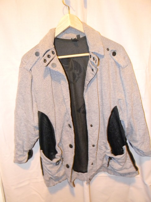 Boy Meets Girl Heather Grey Jacket Image 2