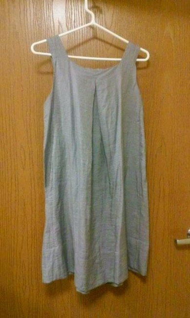 Collective Clothing short dress Gray and silver on Tradesy