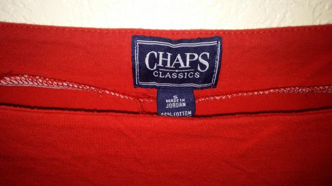 Chaps T Shirt Red white and blue