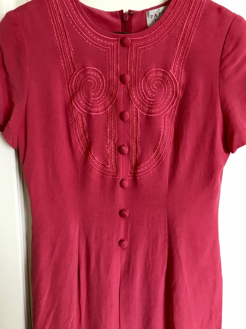 Papell Boutique short dress watermelon pink on Tradesy Image 1