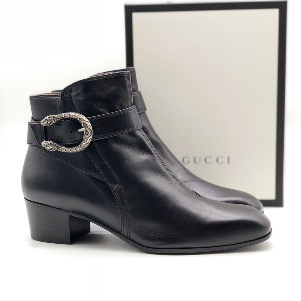 86c8eb209 Gucci Dionysus - Leather Ankle Women Boots/Booties Size EU 36.5 ...