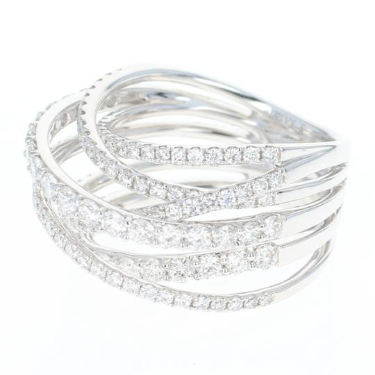 Wilson Brothers NEW Diamond Band - 14k White Gold Crossover Cocktail 1.85ctw Image 1