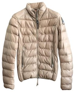 Parajumpers Cappuccino Leather Jacket