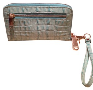 Brahmin Wristlet in Mint