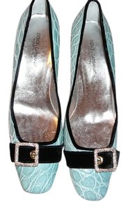 Dolce&Gabbana Gucci 39 Chanel 39 Manolo 39 Jimmy Choo 30 Prada 39 Blue Pumps