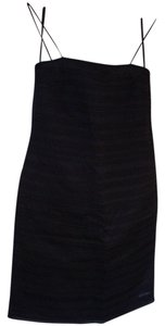 Ellen Tracy Silk Spaghetti Straps Dress
