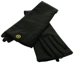 Tory Burch Leather Long Gloves