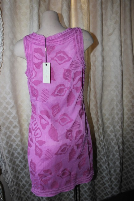 stud short dress pink Summer Studio M Tank New Wedding Shower Chanel Tory Burch Party on Tradesy