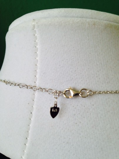 2 B Rych NWOT Pave Cubic Zirconia Heart In Sterling Silver Necklace