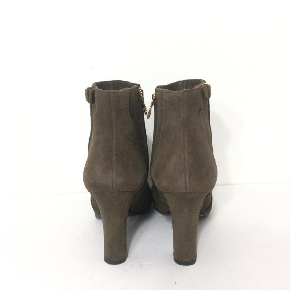 d15ce1f99a7e0 Tory Burch Brown New Milan Suede Boots Booties Size US 10.5 Regular ...