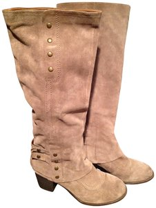 Nine West Studded Beige Boots