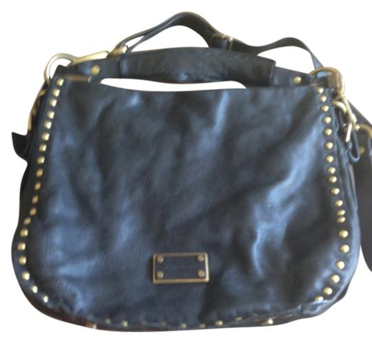 Preload https://item4.tradesy.com/images/kenneth-cole-new-york-studded-black-leather-tote-2251208-0-0.jpg?width=440&height=440