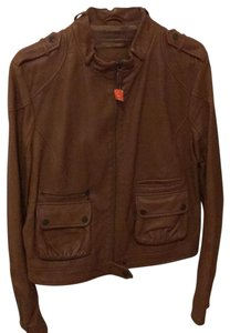 Bally brown Leather Jacket