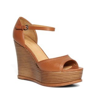 Brooks Brothers cognac Wedges