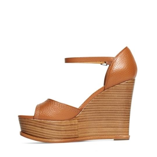 Brooks Brothers cognac Wedges Image 1