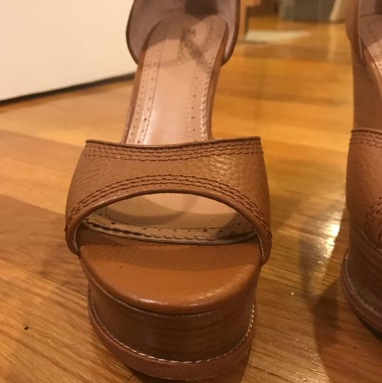 Brooks Brothers cognac Wedges Image 10