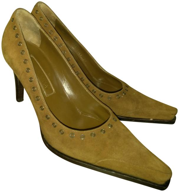 Item - Brown Made In Italy Suede Pumps Size EU 39 (Approx. US 9) Regular (M, B)