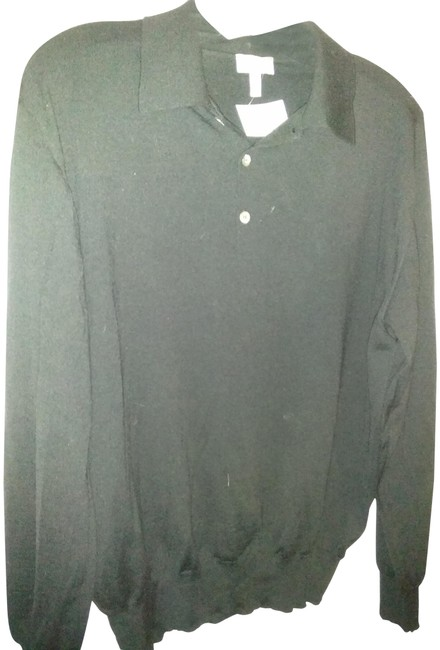 Item - Made In Italy 52 Fine Knit Black Sweater