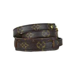 Louis Vuitton Authentic LOUIS VUITTON Monogram canvas strap 92cm (36 inch)