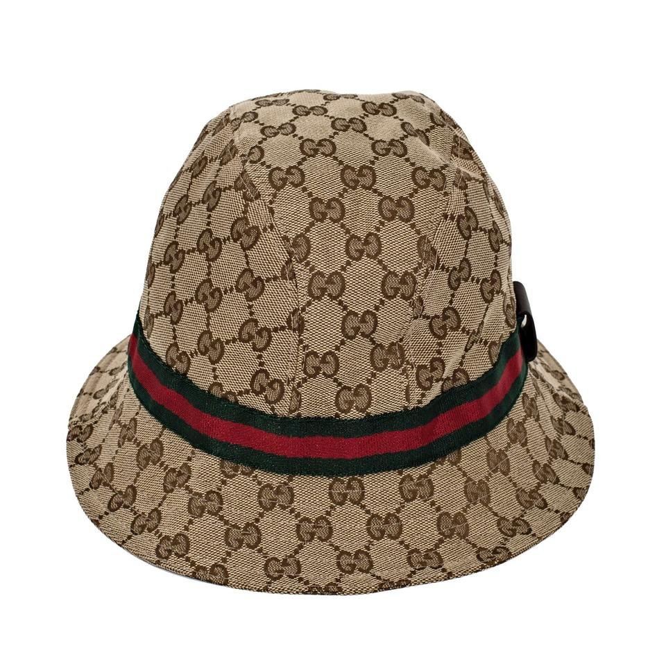 new gucci original gg bucket hat size large on tradesy. Black Bedroom Furniture Sets. Home Design Ideas