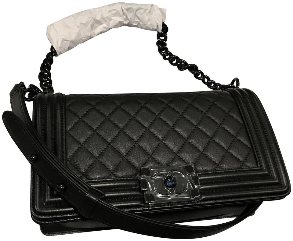 e4f107dcd00c Chanel Le Boy Flap So Old Medium Boy Calfskin Boy Hardware Shoulder Bag  Image 0 ...