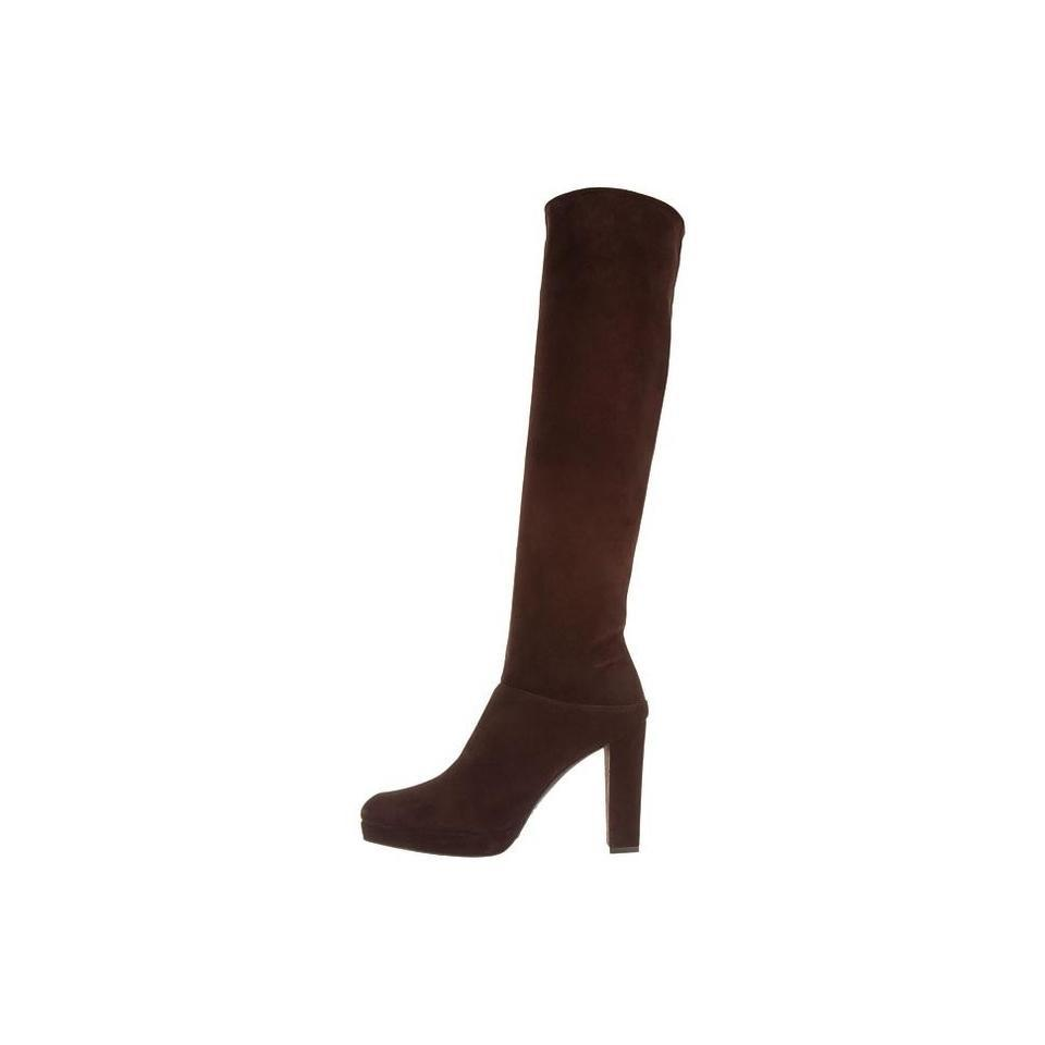 Stuart Knee Weitzman Brown Crushable Knee Stuart High Suede 10.5m Boots/Booties c22afb