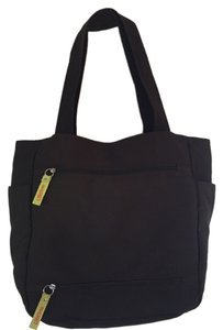 Tote Travel Pockets Large Brown Travel Bag