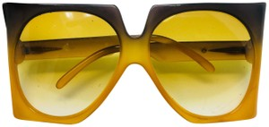 Dior Vintage Christian Dior Oversized Gradient Sunglasses - 70's used