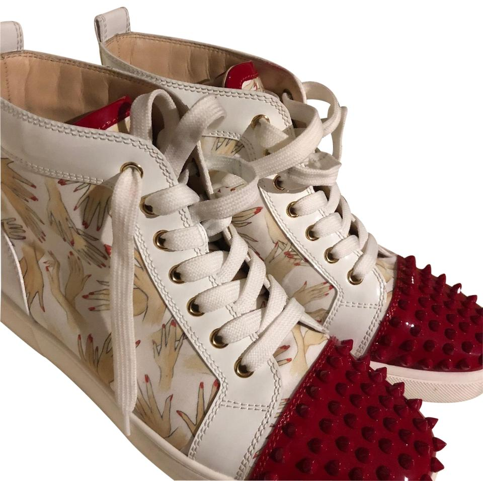 76a898db972d Christian Louboutin Spiked Sneakers Size US 11 Regular (M
