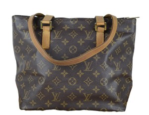 Louis Vuitton Cabas Piano Tote in Brown
