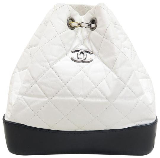 Preload https://img-static.tradesy.com/item/22513807/chanel-gabrielle-backpack-2017-w-tags-black-and-white-calfskin-backpack-0-1-540-540.jpg