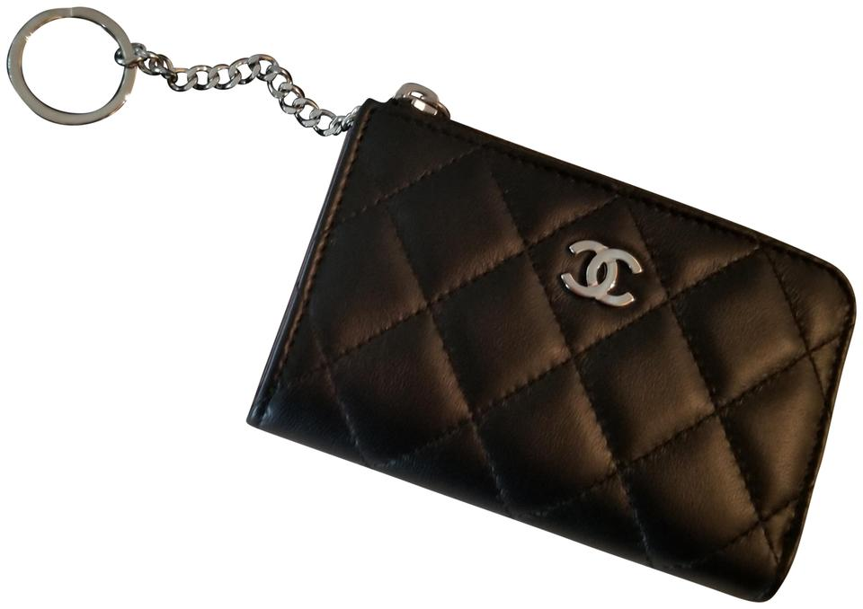 fd41194b2808 Chanel Never Used Authentic Chanel Zip Wallet Key chain Image 0 ...