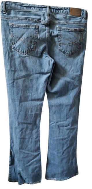 Aéropostale Flare Leg Jeans-Distressed