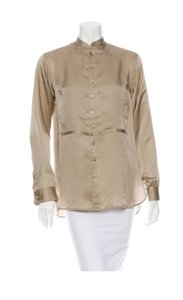 Ralph Lauren Collection Button Down Shirt Pale pewter
