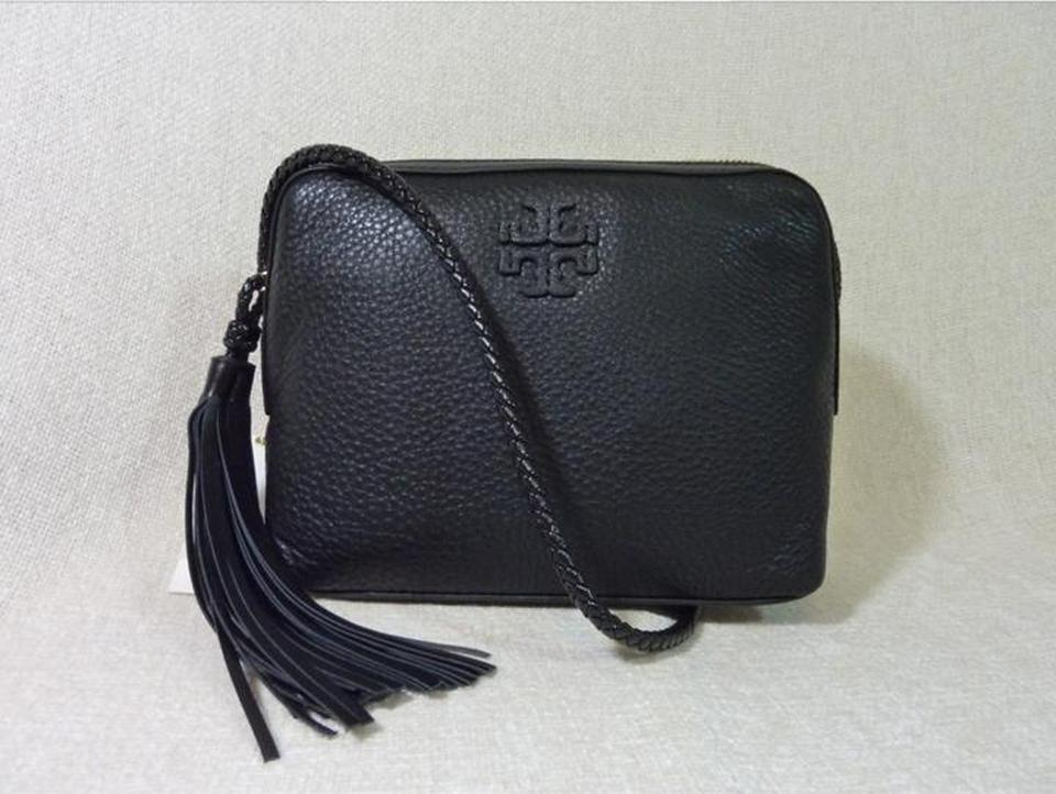 4eedd2e136852 ... Body Pebbled Tory Taylor Camera Bag Burch Leather Black Cross x001Iqw  ...