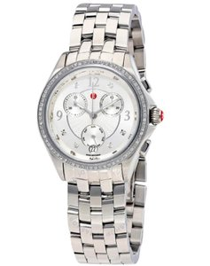 Michele FLASH-SALE NWT Belmore Diamond, Diamond dial chronograph watch