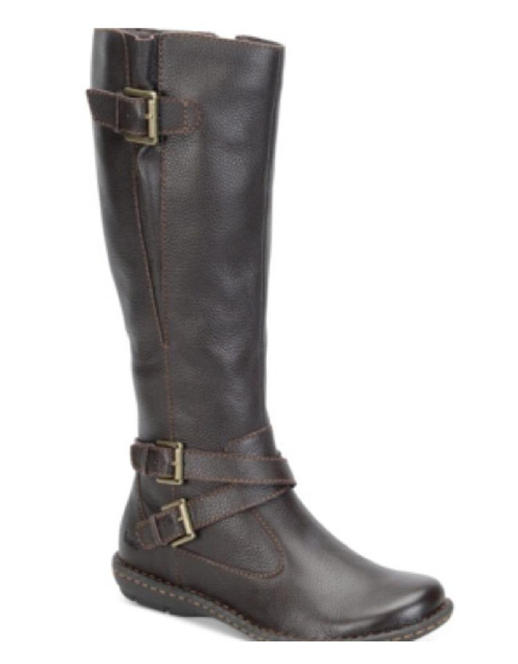 Dark Brown Riding Riding Brown Boots/Booties 9c9d6f