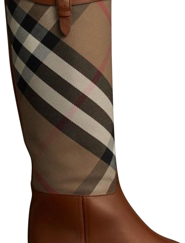 Chestnut House and Check and House Leather Riding Boots/Booties bee846
