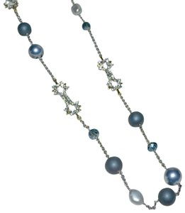 Alexis Bittar ALEXIS BITTAR Elements Pearls and Crystals Sphere Beaded Necklace