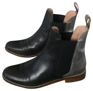 Joules Black and Metallic Silver