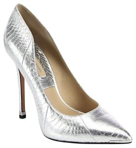 Michael Kors Silver Pumps