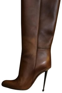 Tom Ford Cognac (Brown) Leather Boots